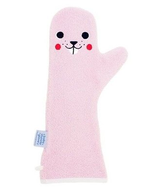 Invented4Kids Invented4kids baby shower glove washand roze
