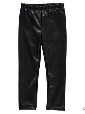 Jubel Meisjes legging lederlook zwart Jubel