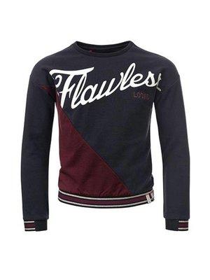 LOOXS Meisjes sweater donkerblauw Looxs