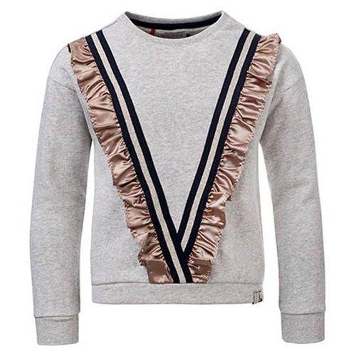 LOOXS Meisjes sweater grijs Looxs