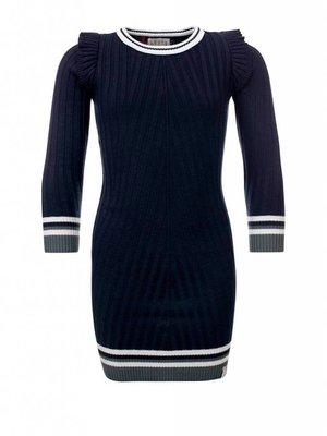 LOOXS Meisjes jurk donkerblauw Looxs