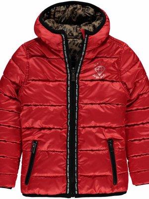 Quapi Meisjes winterjas rood Lotte Quapi