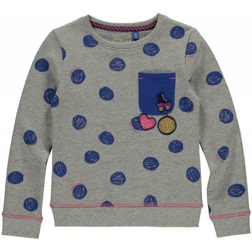 Quapi Meisjes sweater dessin Loes Quapi