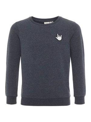 Name-it Name-it jongens sweater NKFBERBEL S Dark Sapphire