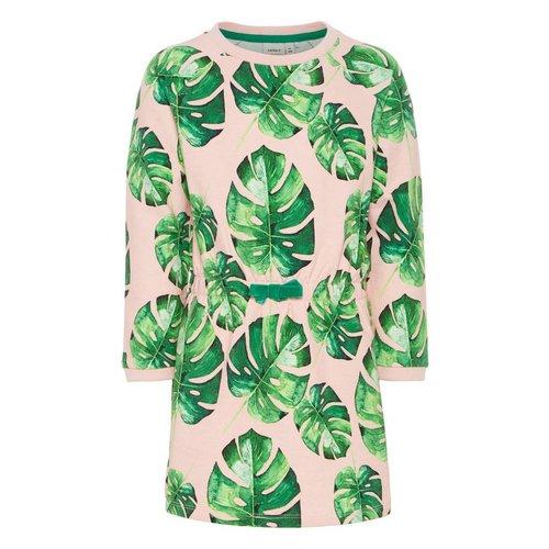 Name-it Name-it meisjes jurk NMFTATA Cream