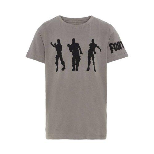 Name-it Name-it Jongens T-shirt NKMFORTNITE  Asphalt