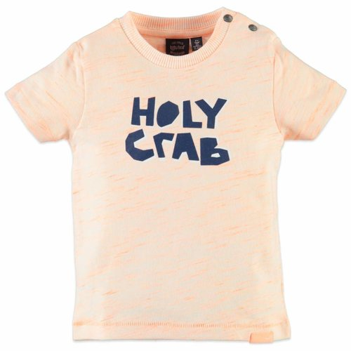 Babyface Babyface - baby jongens t-shirt fluor oranje