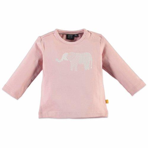 Babyface Babyface - baby meisjes longsleeve roze
