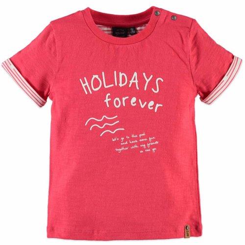 Babyface Babyface - jongens t-shirt rood