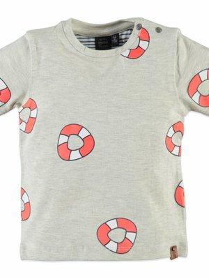 Babyface Babyface - jongens t-shirt grijs