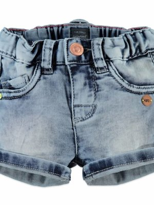 Babyface Babyface - meisjes jogg jeans short licht denim