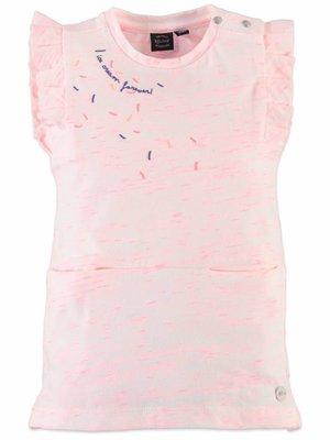 Babyface Babyface - meisjes jurk fluor roze