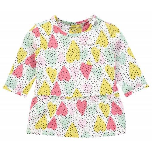 Noppies Noppies - Baby meisjes jurkje Pomona wit