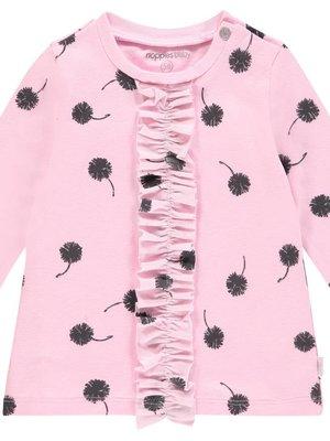Noppies Noppies - Baby meisjes jurkje Paris roze