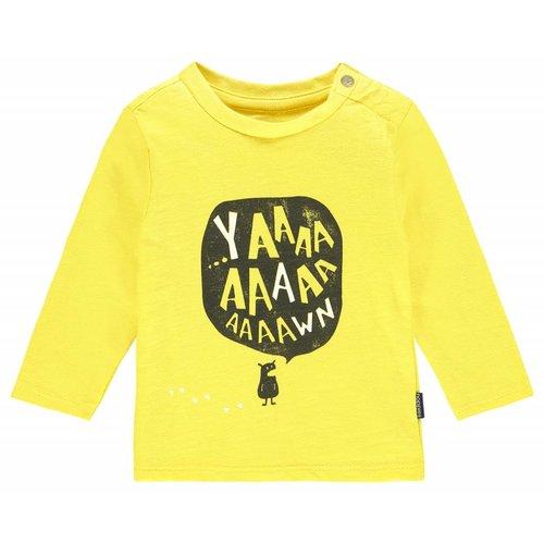 Noppies Noppies - Baby jongens longsleeve Parsons geel