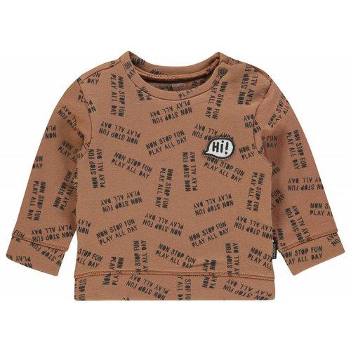 Noppies Noppies - Baby jongens sweater Pascoe bruin