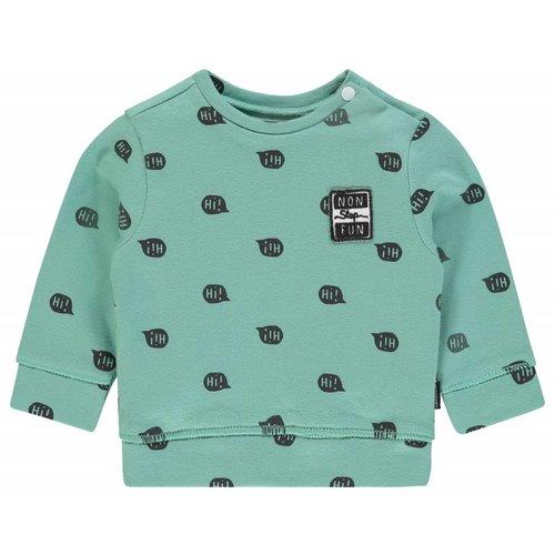 Noppies Noppies - Baby jongens sweater Pascoe groen