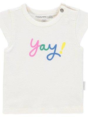 Noppies Noppies - Baby meisjes t-shirt Rolla wit