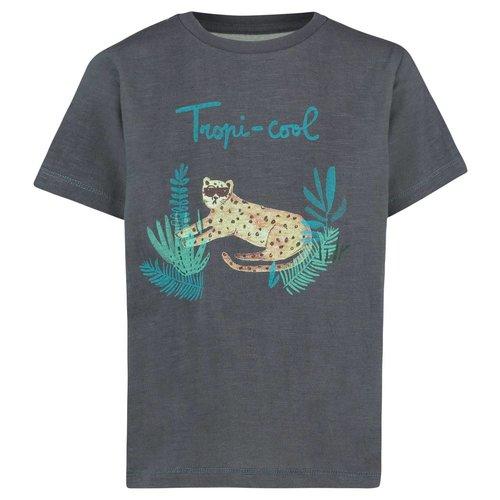 Noppies Noppies - jongens t-shirt Somerton donker grijs