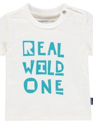 Noppies Noppies - Baby jongens t-shirt Sandpoint wit