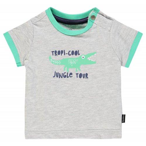 Noppies Noppies - Baby jongens t-shirt Summerfield licht grijs