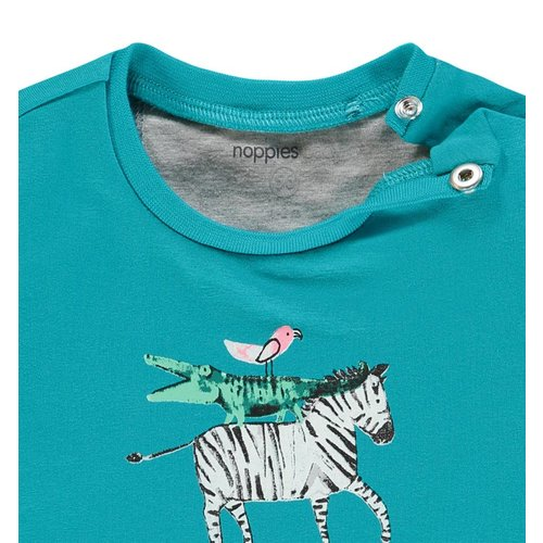 Noppies Noppies - Baby jongens t-shirt Saratoga aqua