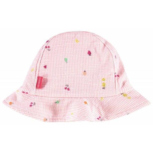 Noppies Noppies - Baby meisjes muts aop roze