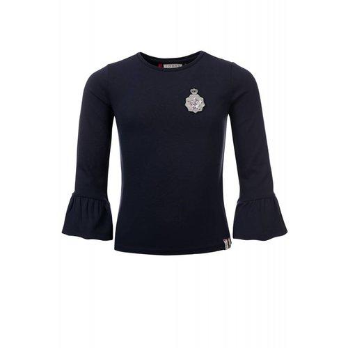 Looxs Revolution Meisjes sweater donker blauw Looxs