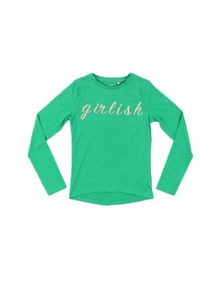 Name-it Name-it meisjes longsleeve NKFTINKA Jolly Green