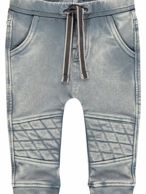 Noppies Noppies - Baby jongens broek Palm Beach denim grijs