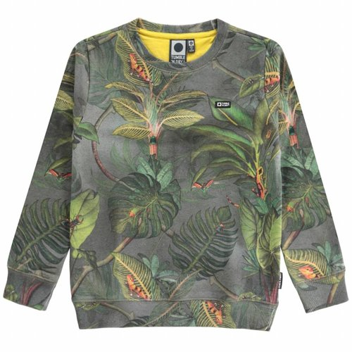 Tumble 'n Dry Tumble 'n Dry - Jongens sweater Davie groen
