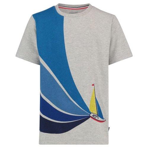 Noppies Noppies - jongens t-shirt Riverton licht grijs
