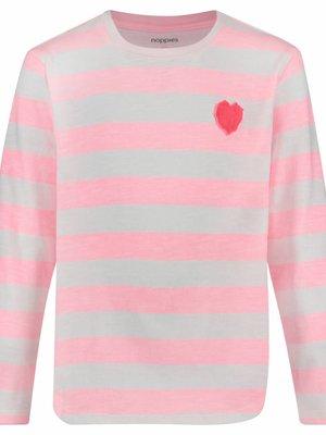 Noppies Noppies - meisjes longsleeve Reidsville fluor roze