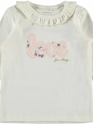 Name-it Name-it baby longsleeve NBFTEAN Snow White