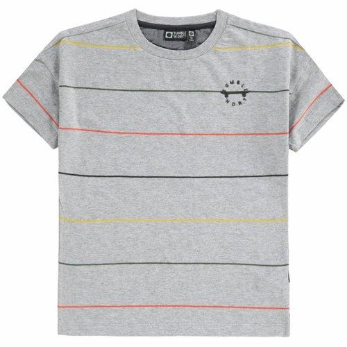 Tumble 'n Dry Tumble 'n Dry - Jongens t-shirt Dotano licht grijs