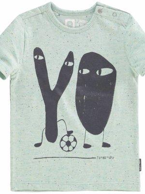 Tumble 'n Dry Tumble 'n Dry - Baby jongens t-shirt Agner blauw