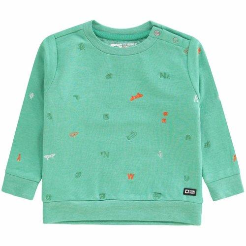 Tumble 'n Dry Tumble 'n Dry - Baby jongens sweater Adal groen
