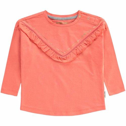 Tumble 'n Dry Tumble 'n Dry - Baby meisjes longsleeve Elda oranje