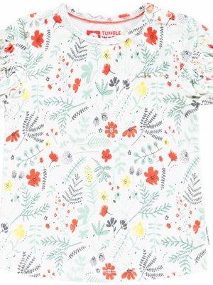 Tumble 'n Dry Tumble 'n Dry - Baby meisjes t-shirt Effie gebroken wit