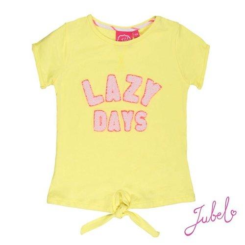 Jubel Meisjes t-shirt geel Jubel