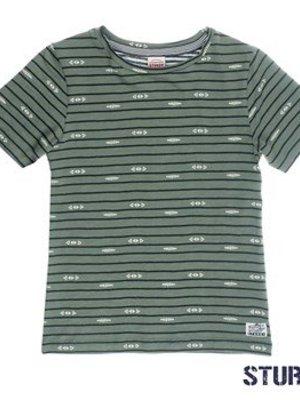 Sturdy Jongens t-shirt aop leger groen Sturdy