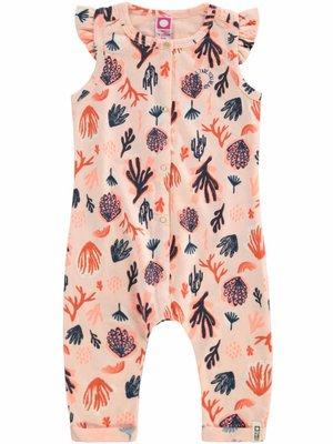 Tumble 'n Dry Tumble 'n Dry - Baby meisjes jumpsuit Erissa perzik