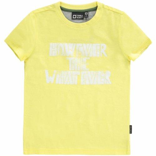 Tumble 'n Dry Tumble 'n Dry - Jongens t-shirt Deloy geel