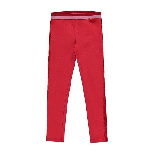 Quapi Quapi - Meisjes legging rood Shelley 2