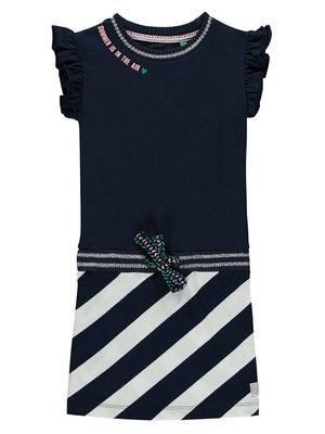 Quapi Quapi - Meisjes jurk donker blauw Sabina