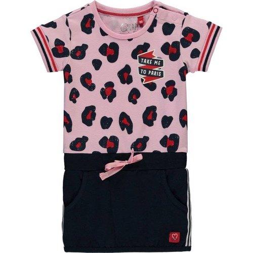 Quapi Quapi - Meisjes jurk roze Renise