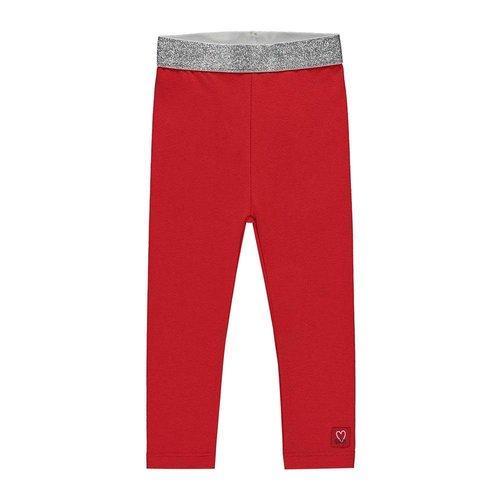Quapi Quapi - Meisjes legging rood Rianne 2