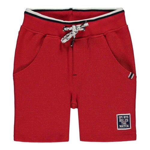 Quapi Quapi - Jongens sweat short rood Roas