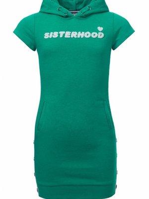 Looxs Revolution Meisjes jurk groen Looxs