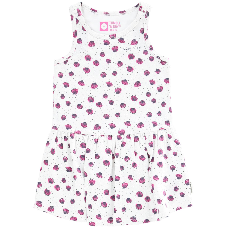 0308cf7bba9afa Tumble  n Dry - Baby meisjes jurk Enou wit - Twinkel Kidz